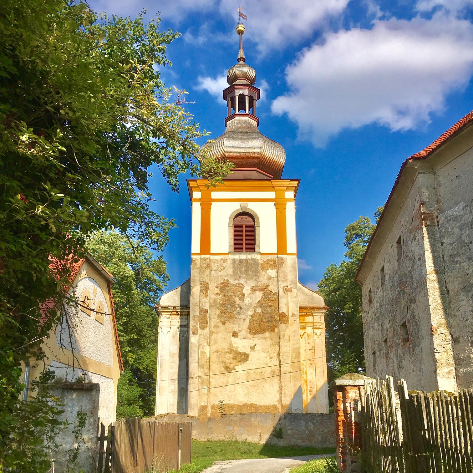 Kostel svatého Václava Kadov